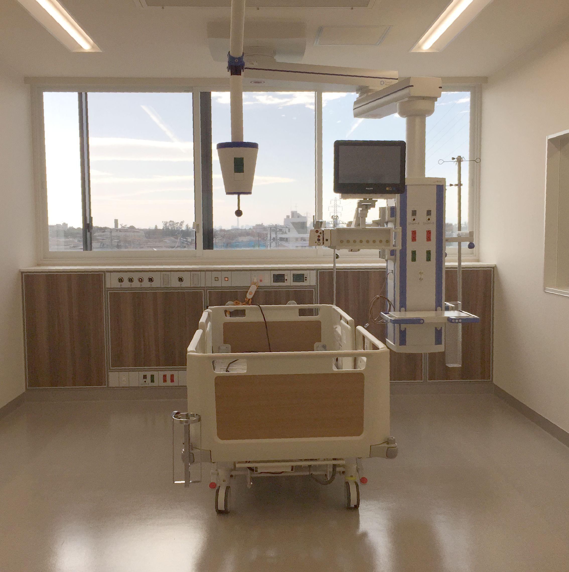 松戸市立総合医療センター ICU