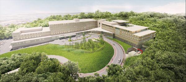 新百合ヶ丘総合病院新棟
